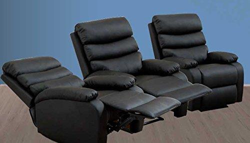 sillon reclinable masaje electrico Luxury Vida 10.